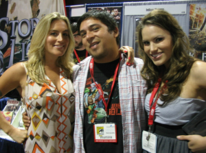 Vanessa Gomez and Marisa Sullivan - Come Together Film Actresses at Comic-Con 2010